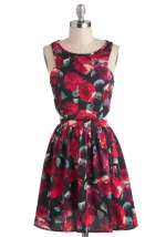 Floral dress at Modcloth at Modcloth