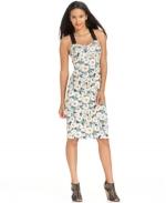 Floral dress by Rachel Roy at Macys