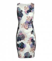 Floral fitted dress at H&M