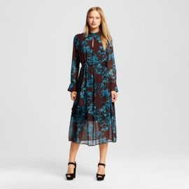 Floral midi dress at Target