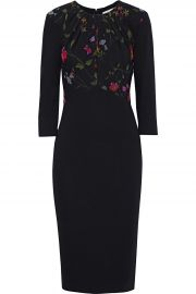 Floral paneled dress by Jason Wu at The Outnet