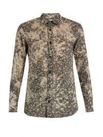 Floral-print cotton-batiste shirt at Matches