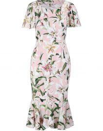 Floral print dress at 24s