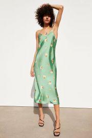 Floral print dress at Zara