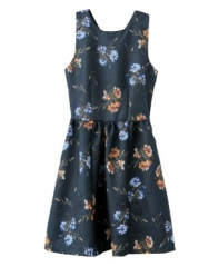 Floral print dress at Chic Nova