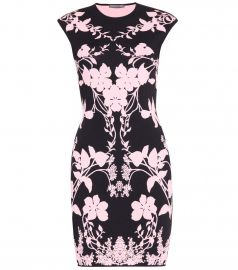 Floral print dress by Alexander McQueen at Mytheresa