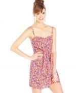 Floral print dress by Keds at Macys