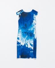 Floral print shift dress at Zara