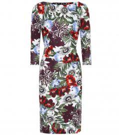 Floral-printed dress at Mytheresa