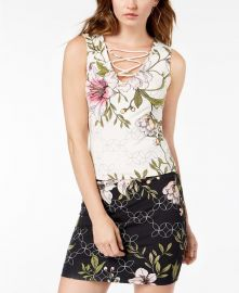 Floral strappy top at Guess
