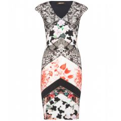 Floral stretch dress at My Theresa