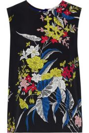 Floral top at The Outnet