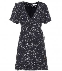 Flores wrap dress at Mytheresa