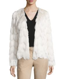 Florin Scalloped Tiered-Fringe Jacket at Bergdorf Goodman