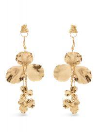 Flower Drop Earrings by Balenciaga at Net A Porter