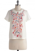 Flower Patch My Drift Top at Modcloth