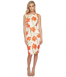 Flower Print Sheath at Zappos