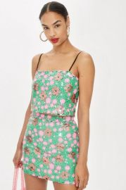 Flower Sequin Cami Top at Topshop