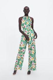 Flowy Halter Top Jumpsuit by Zara at Zara