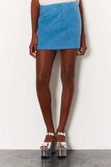 Fluffy Pelmet Skirt at Topshop