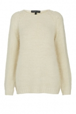 Fluffy jumper from Topshop at Topshop