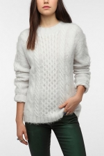 Fluffy jumper from Urban Outfitters at Urban Outfitters