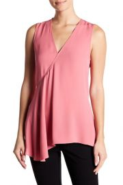 Fluid Silk Georgette Top by Theory at Nordstrom Rack