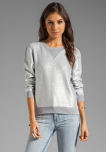 Foil printed sweatsirt by Marc by Marc Jacobs at Revolve