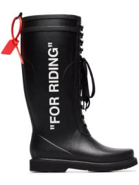 For Riding Wellington Boots at Farfetch