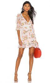 For Love  amp  Lemons Isadora Mini Dress in Blush from Revolve com at Revolve