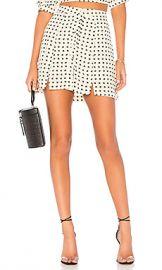 For Love  amp  Lemons Sweetheart Mini Skirt in Creme from Revolve com at Revolve