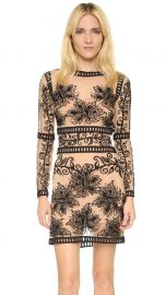 For Love andamp Lemons Desert Nights Mini Dress in Black at Shopbop