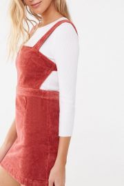 Forever 21 Corduroy Cutout Mini Dress at Forever 21