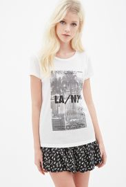 Forever 21 LA NY tee at Forever 21