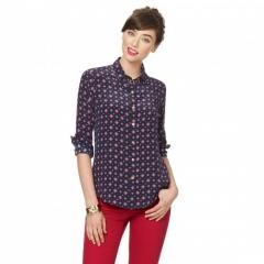 Foulard Silk Shirt at C Wonder