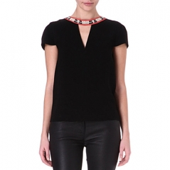 Fraiche Top by Maje at Selfridges