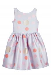 Frais Metallic Polka Dot Dress  Toddler Girls  Little Girls   Big Girls at Nordstrom