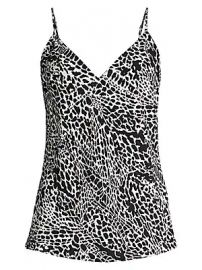 Frame - Print Silk Cami at Saks Fifth Avenue