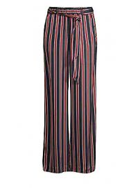 Frame - Side Slit Striped Pants at Saks Fifth Avenue