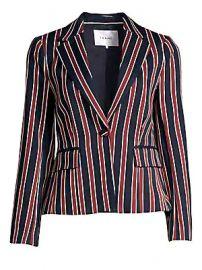 Frame - Stripe Shrunken Blazer at Saks Fifth Avenue