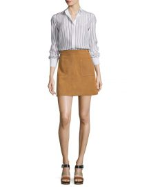 Frame Le High A-Line Skirt at Neiman Marcus
