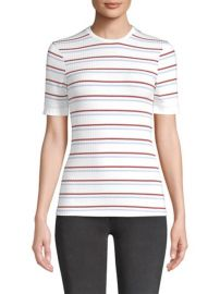 Frame Striped Tee at Saks Fifth Avenue