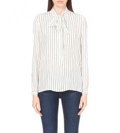 Frame silk stripe shirt at Selfridges
