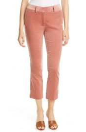 Frame slim crop trousers at Nordstrom