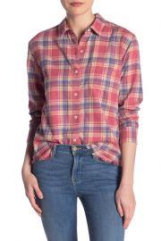 Frame true plaid shirt at Nordstrom Rack