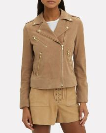 Frances Moto Jacket at Intermix