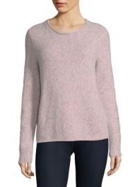 Francie Suede Trim Wool Blend Sweater by Rag and Bone at Saks Fifth Avenue