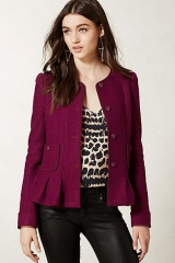 Francie Peplum Jacket at Anthropologie
