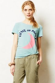 Francophile tee at Anthropologie