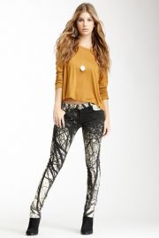 Frankie B BFF Print Jeggings at Nordstrom Rack